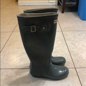 ✨NEW LISTING✨ Hunter Tall gloss rain boots